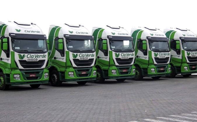 Com remuneração média de R$ 5 mil, Cia Verde Logística abre 10 vagas para motoristas carreteiros