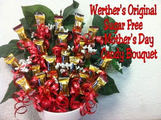 Werther's Original Sugar Free Mother's Day Candy Bouquet