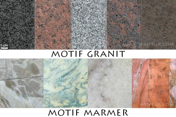 Perbedaan Granit Dan Marmer Sebagai Material Bangunan