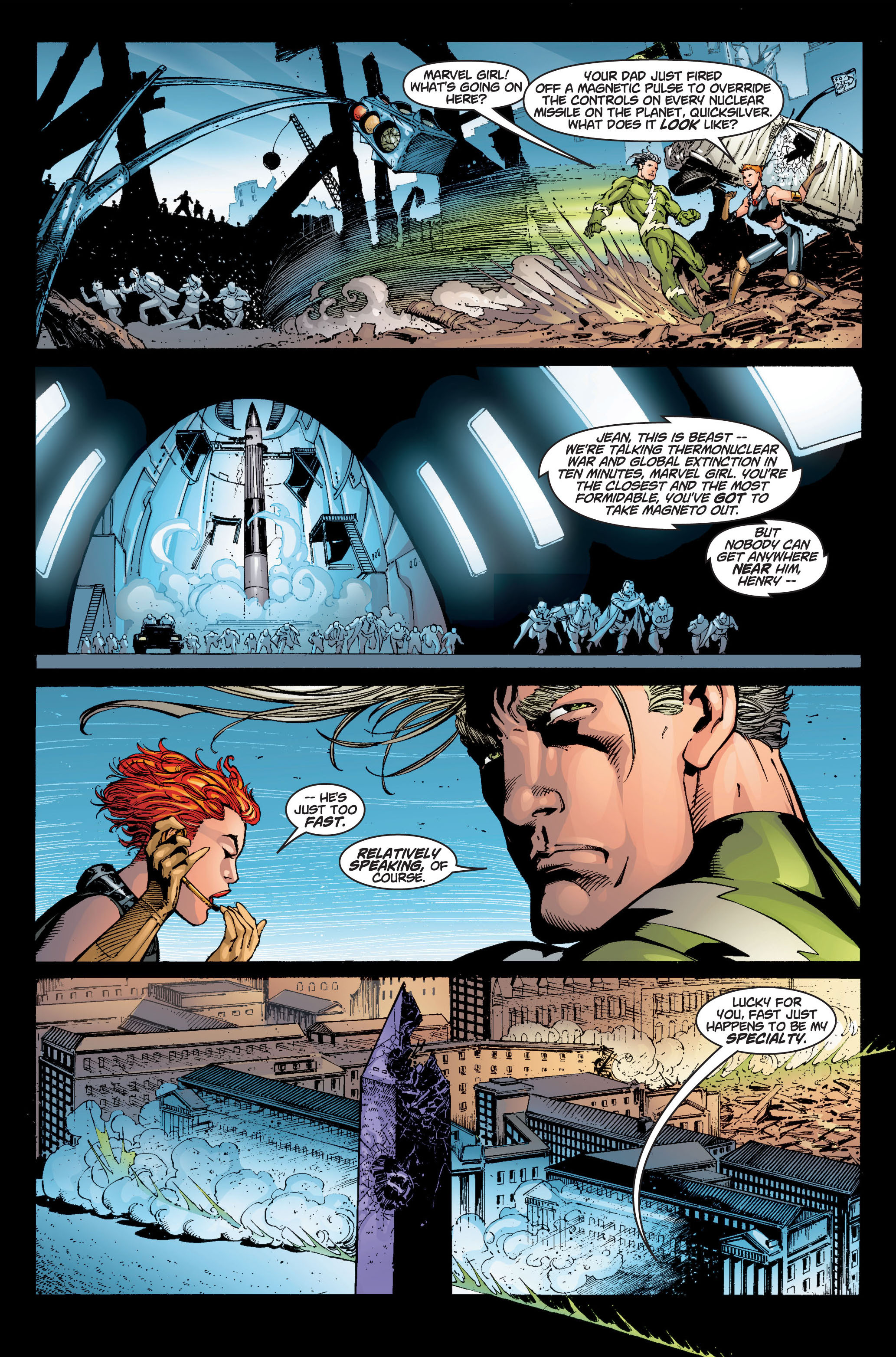 Read online Ultimate X-Men comic -  Issue #6 - 17