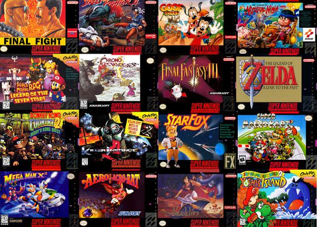Planeta dos Torrents: Super Nintendo ROM PACK