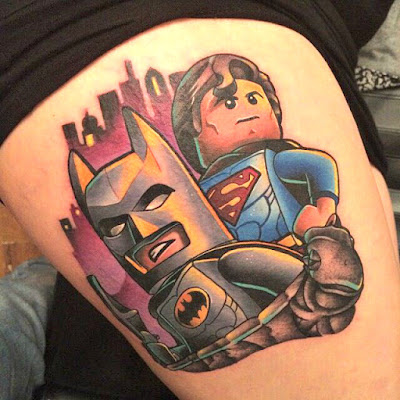 Tatuaje The Lego Batman Movie