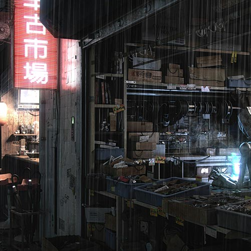 Cyberpunk Alley Wallpaper Engine