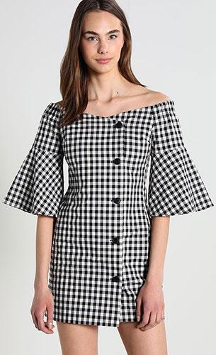 vestido mujer top shop Zalando