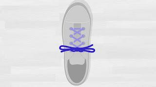 Cara Mengikat Tali Sepatu Tutorial 4