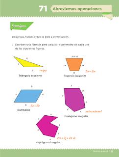 Respuestas Apoyo Primaria Desafíos Matemáticos 5to Grado Bloque IV Lección 71 Abreviemos operaciones