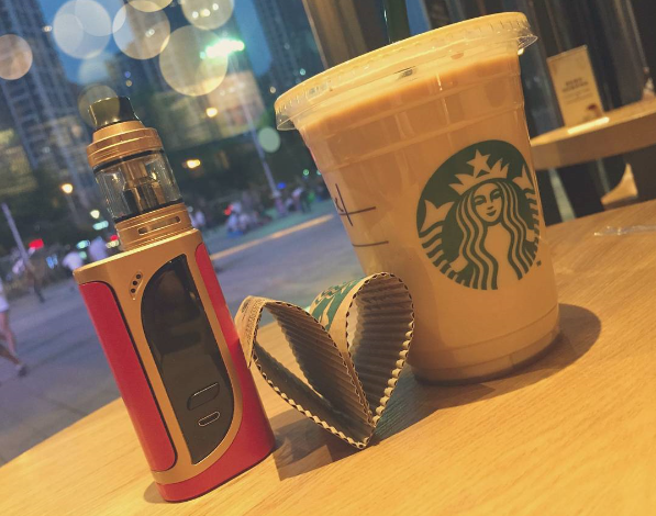 Starbucks falling in love with  iKonn 220 with ELLO Kit