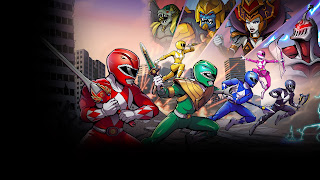 Mighty Morphin Power Rangers Mega Battle Wallpaper