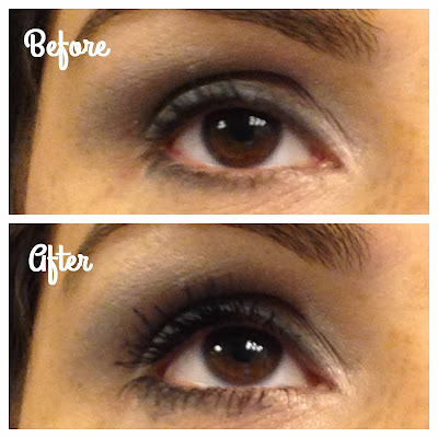 Chanel Inimitable Mascara - Before and After