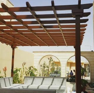 صور مظلات حدائق - تصاميم مظلات حدائق