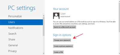 Cara Mengganti Password Windows 7 dan 8