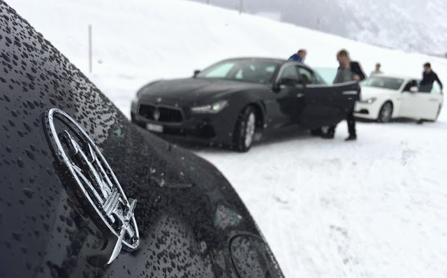 Maserati winter training