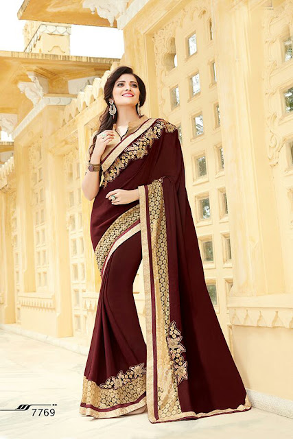 Most Trendy Heavy Designer Saree Collection Aakruti vol 2 at Wholesale Price