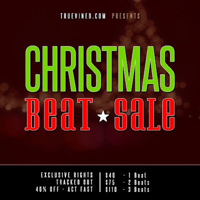 Truevined - Christmas beat sale artwork