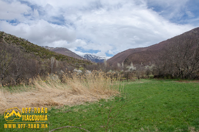 Baba mountain - view from #Brajcino village, #Prespa region, #Macedonia