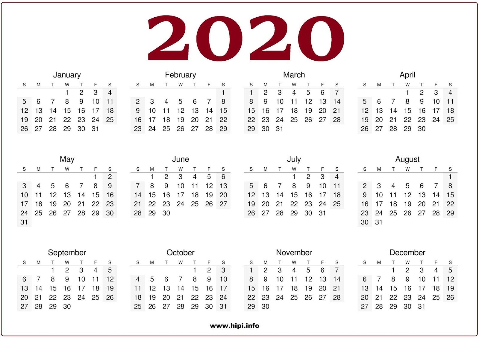 December 2020 Calendar Header Twitter Headers / Facebook Covers / Wallpapers / Calendars: 2020