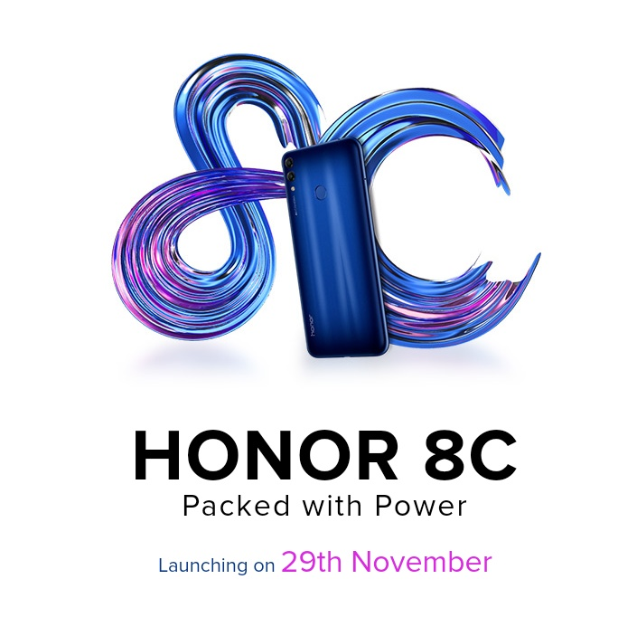 9e751428e03f Honor 8C launched in India on November 29 with new Snapdragon 632 SoC and  4000mAh battery