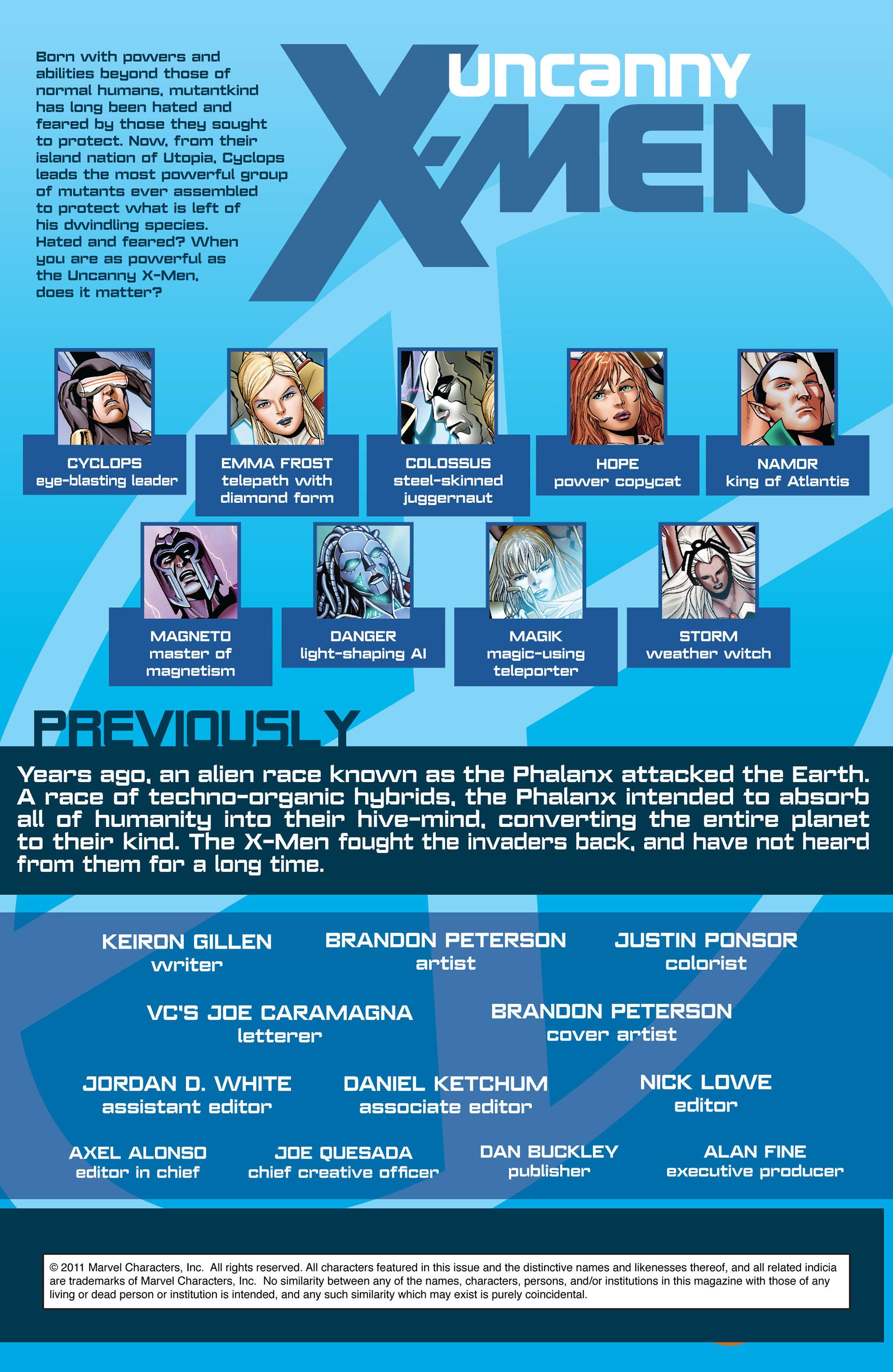 Read online Uncanny X-Men (2012) comic -  Issue #4 - 2