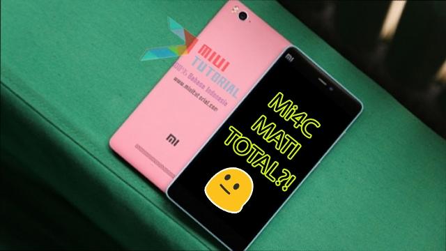 Setelah Update Rom Miui 8 via Mi Flashtool, Xiaomi Mi4c Kamu Malah Mati Total? Coba Tutorial Cara Fix Berikut Ini!