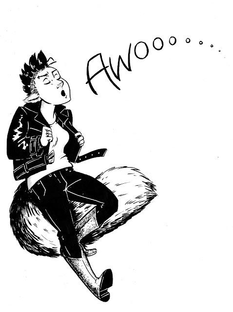 Werewolf Girl