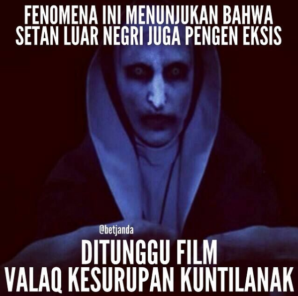 Meme The Conjuring 2 - Valak