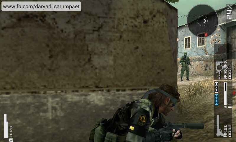 Metal Gear Solid Peace Walker PSP Game on Emulator | Indotechboy