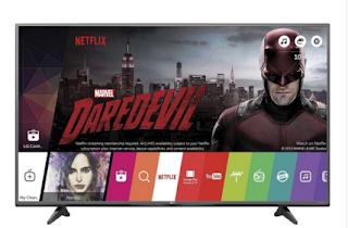 Televizor LED Smart LG, 123 cm,  49UF6807, 4K Ultra HD comanda de aici