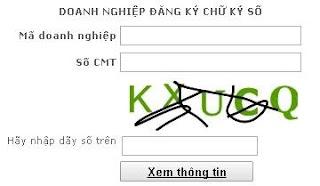 Doanh nghiệp đăng ký chữ ký số