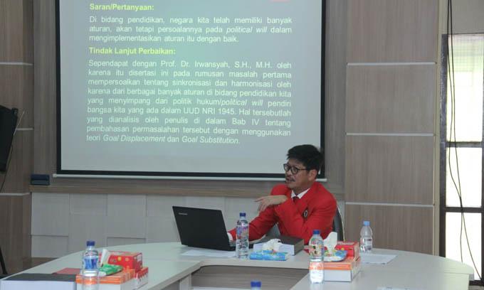 Selangkah Lagi IYL  Sandang Pakar Hukum Pendidikan