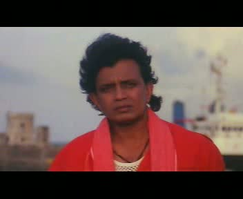 Mithun with a Vegeta hairstyle