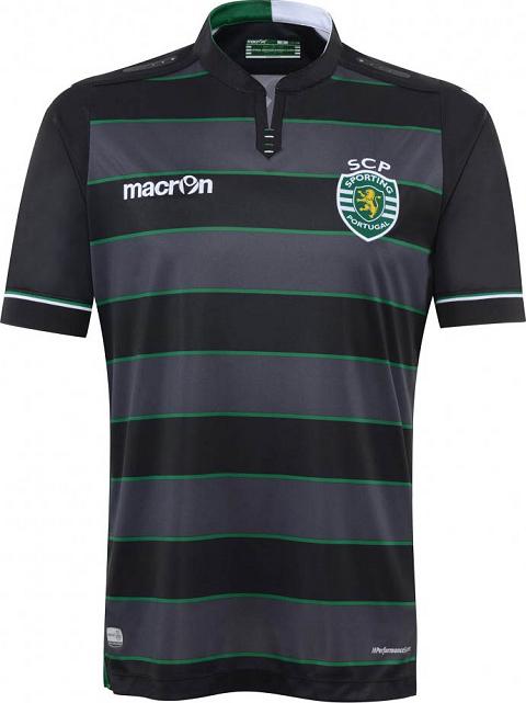 Macron lança as novas camisas do Sporting Lisboa - Show de Camisas 19e3459ac59e6