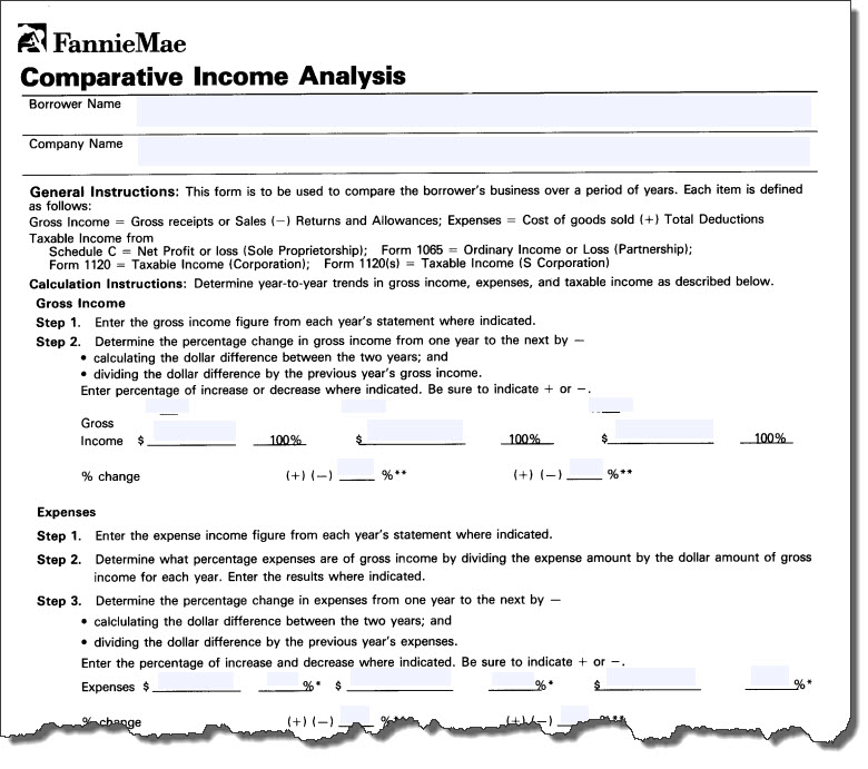 Printables Self Employed Income Analysis Worksheet mortgage news digest i need income computation training means if the is decreasing underwriting may require that lower of two years be utilized or disallow self