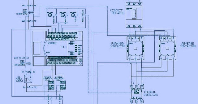 Electrical and electronics engineering electrical wiring diagram contactor operation diagram electrical and electronics engineering electrical wiring diagram forward reverse motor control and power circuit with plc connection0