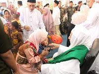 subhannallah! Ribuan Umat Islam Hadiri Open House Habib Luthfy bin Yahya