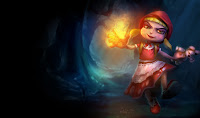 Little Red Riding Annie Skin League of Legends Wallpaper