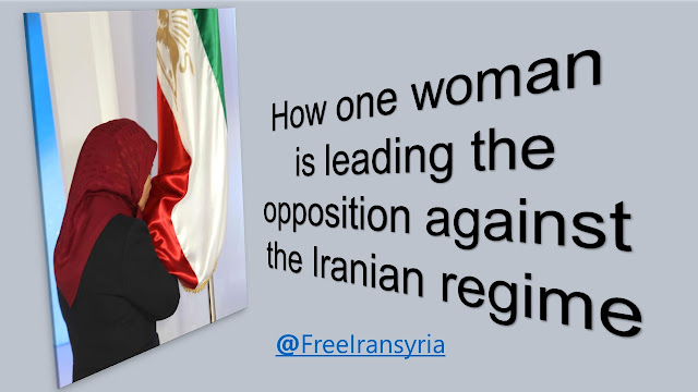 How one woman is leading the opposition against the Iranian regime1