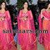 Lavanya Tripati Pink Floor Length Salwar