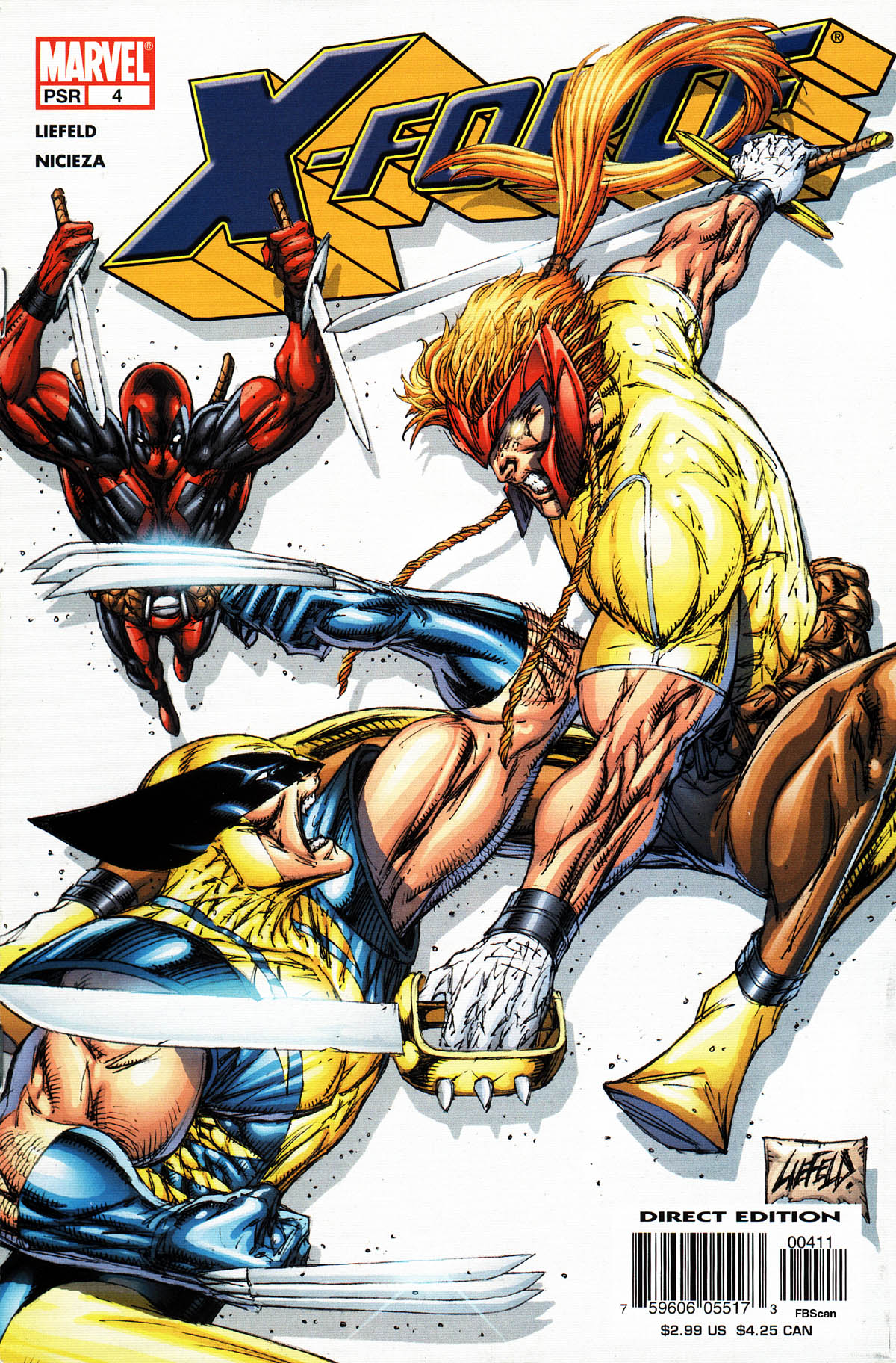 Read online X-Force (2004) comic -  Issue #4 - 1