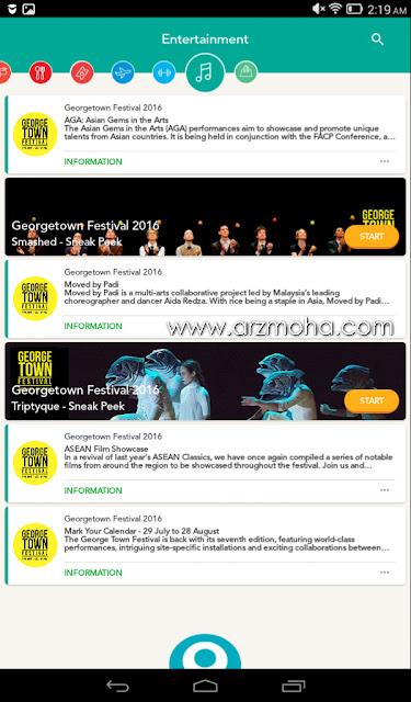 sweetspot malaysia, tawaran tiket sempena georgetown festival,