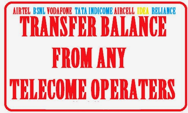 How to Transfer Balance From Any Telecom Operates image picture