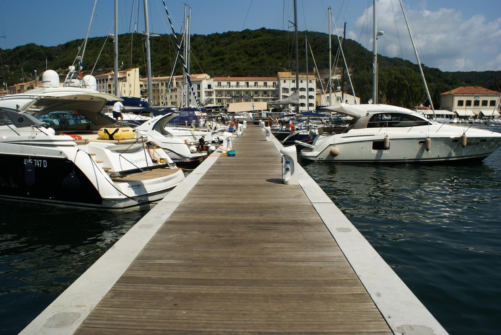 bonifacio port corse corsica été