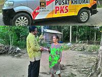 Kenalkan Mobil Layanan Pusat Khidmat, PKS Bagikan Takjil