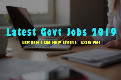SBI Clerk Recruitment 2019 | Last Date for application | Eligibility Criteria And Exam Date | Latest Jobs Alerts 2019