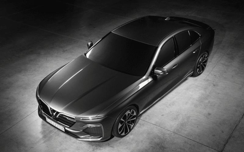 concept sedan vinfast