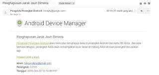 Cara Mengendalikan Android Dari Jarak Jauh