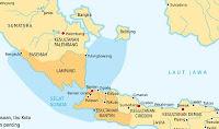Peta Kerajaan Banten