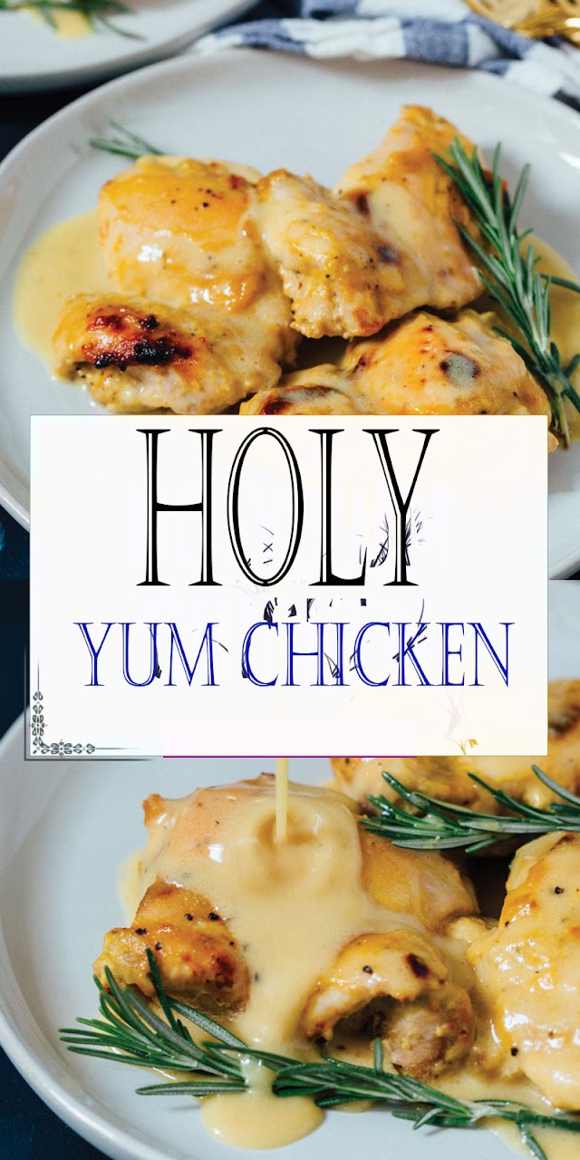 Holy Yum Chícken - Cook All Recipe