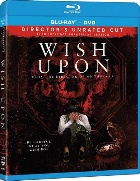 Wish Upon UNRATED (7 Deseos) (2017) 720p y 1080p BDRip mkv Dual Audio DTS 5.1 ch