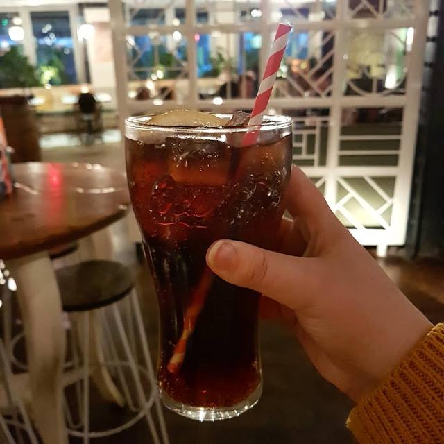 pint of diet coke