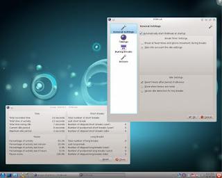 RSIBreak working on KDE